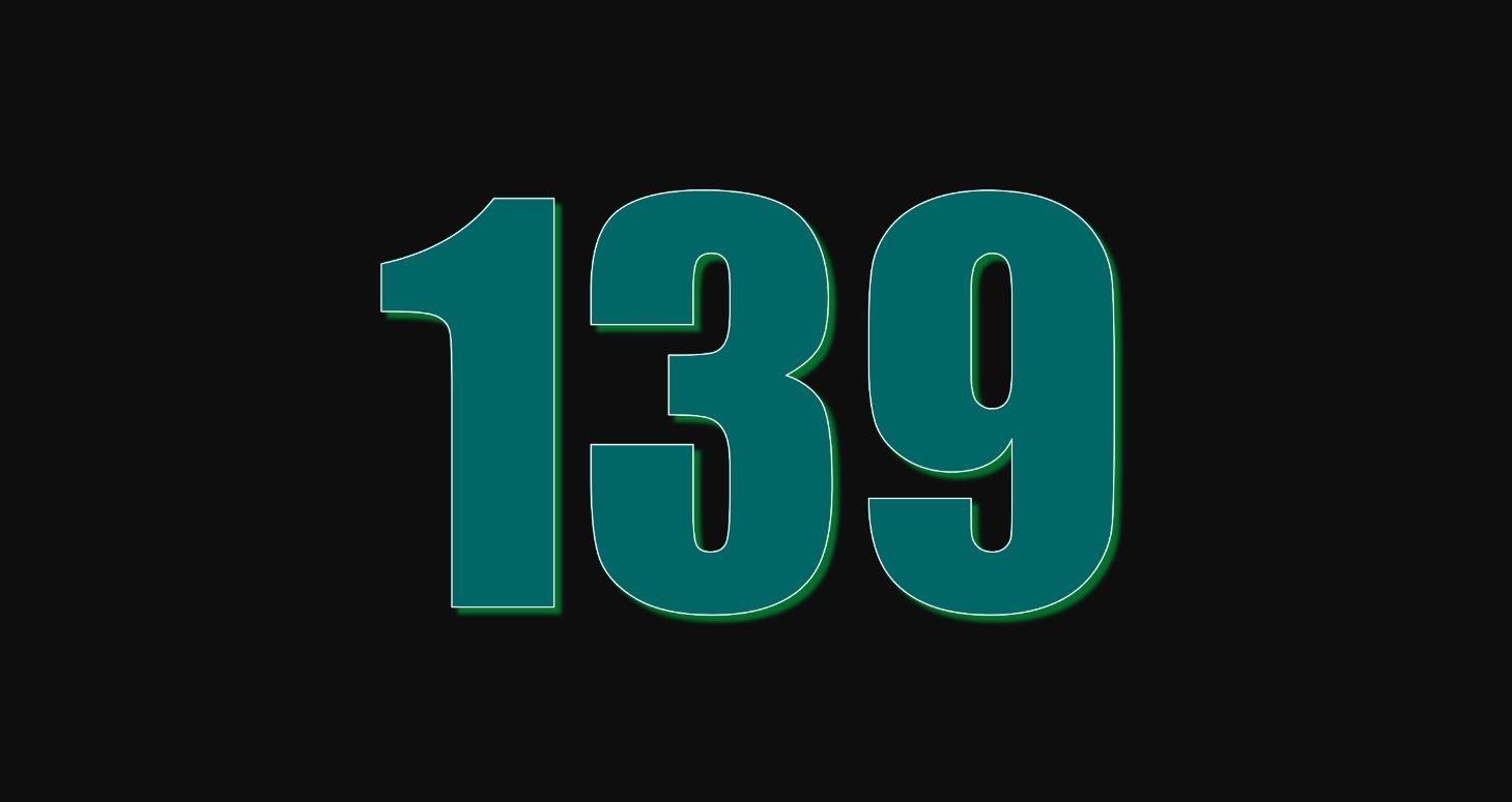 Significado do número 139