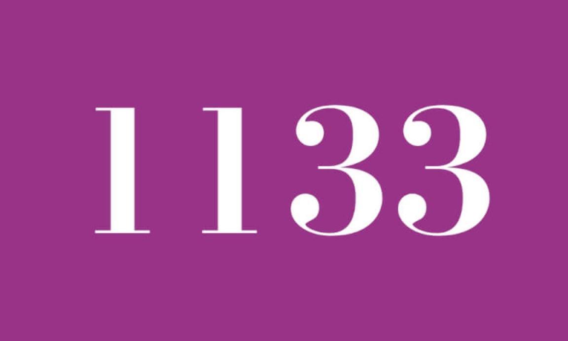 Significado do número 1133