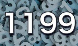 Significado do número 1199: Interpretação da numerologia