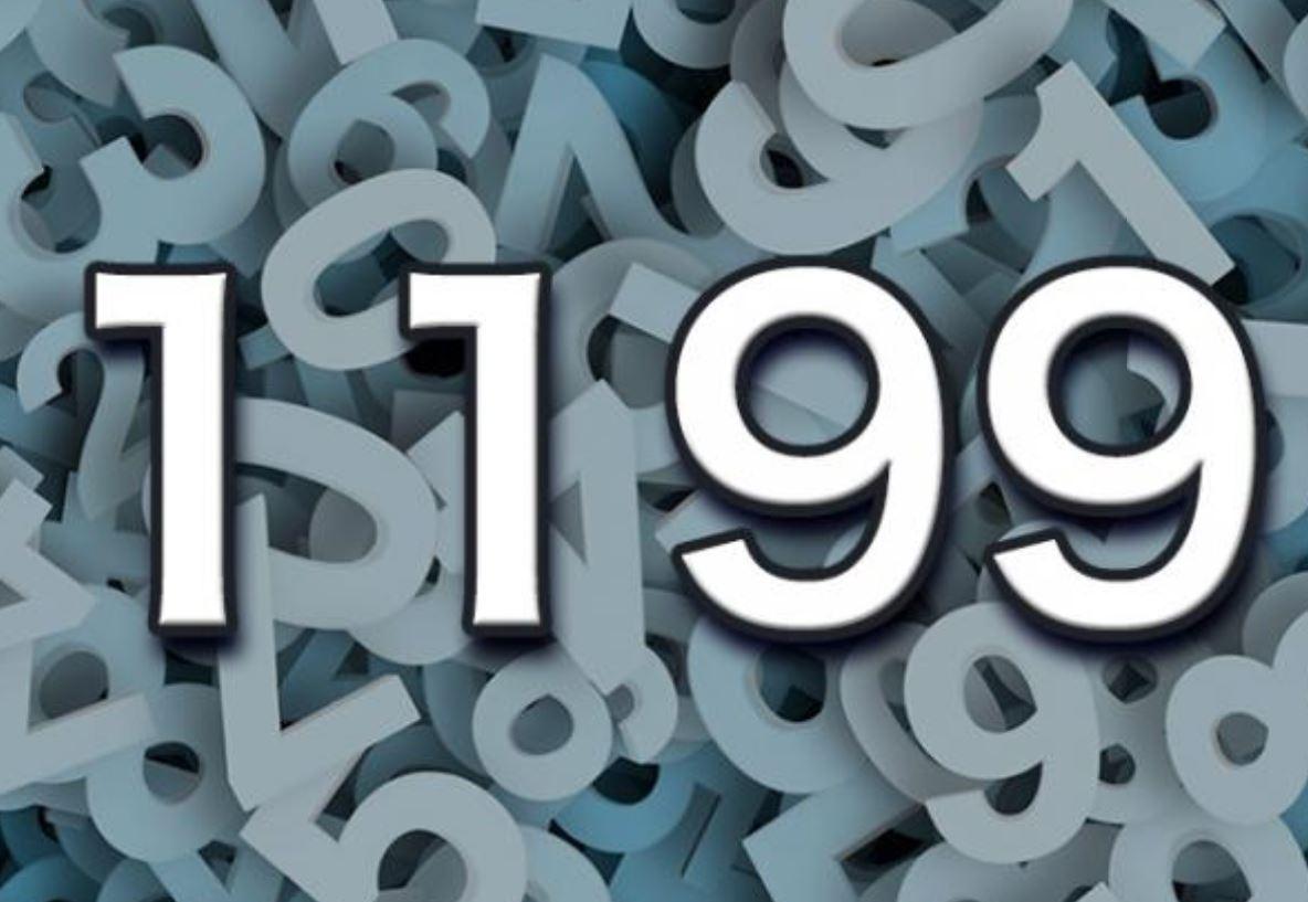 Significado do número 1199