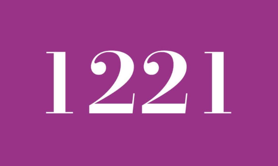 Significado do número 1221