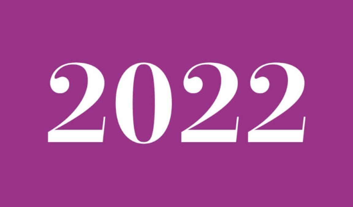 Significado do número 2022