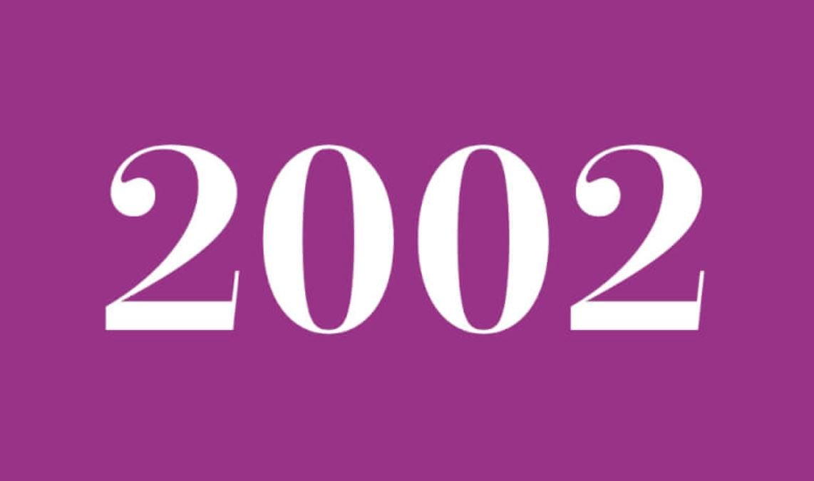 Significado do número 2002