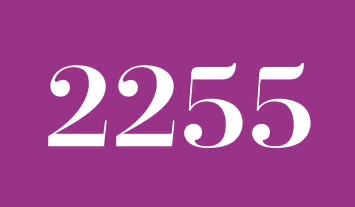 Significado do número 2255