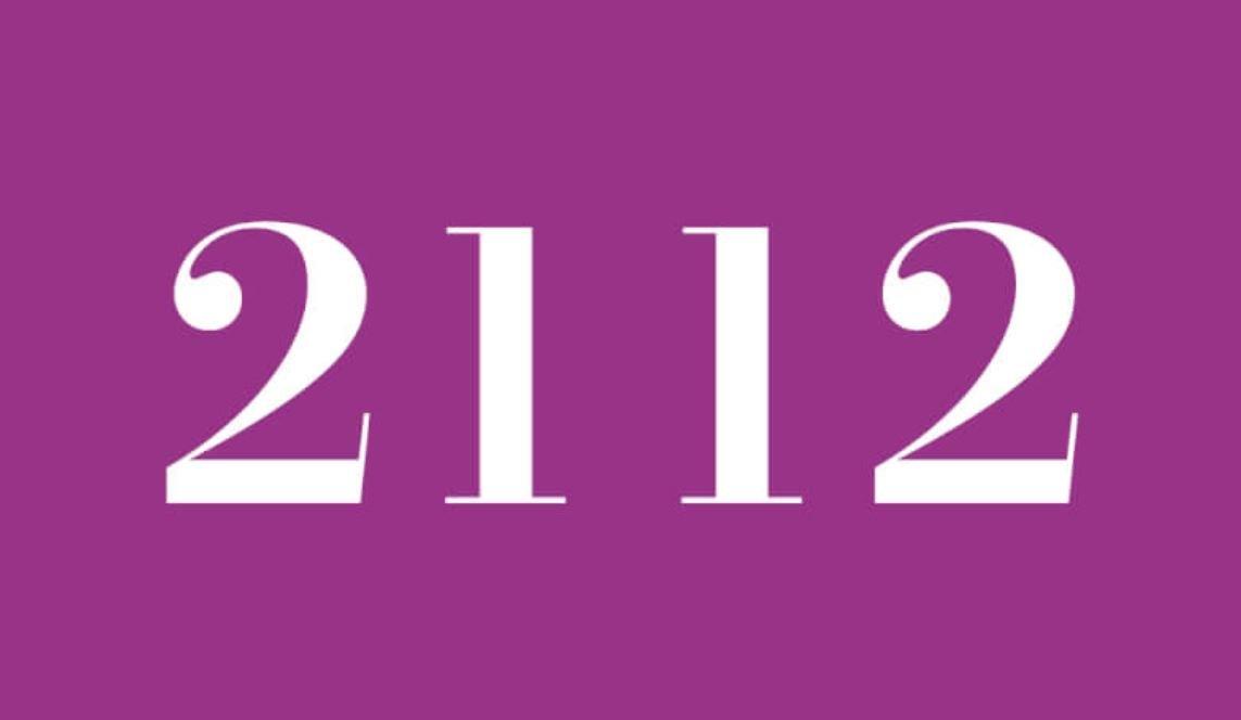 Significado do número 2112