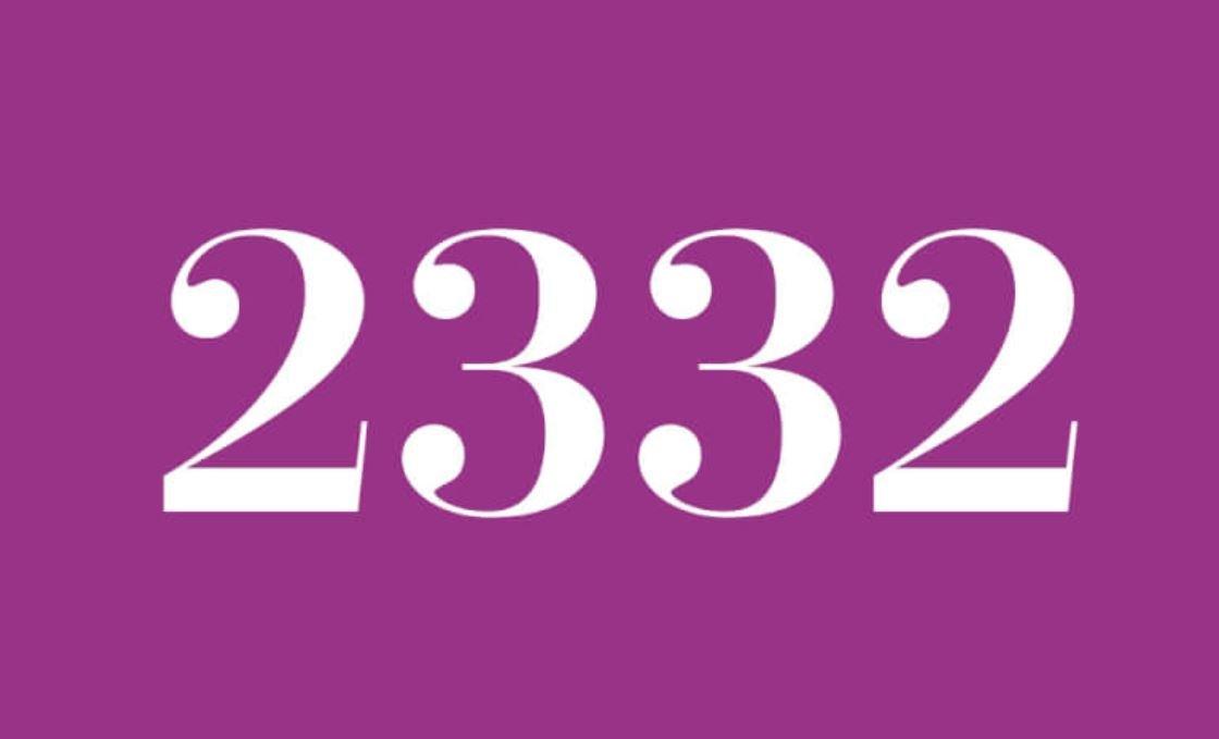 Significado do número 2332