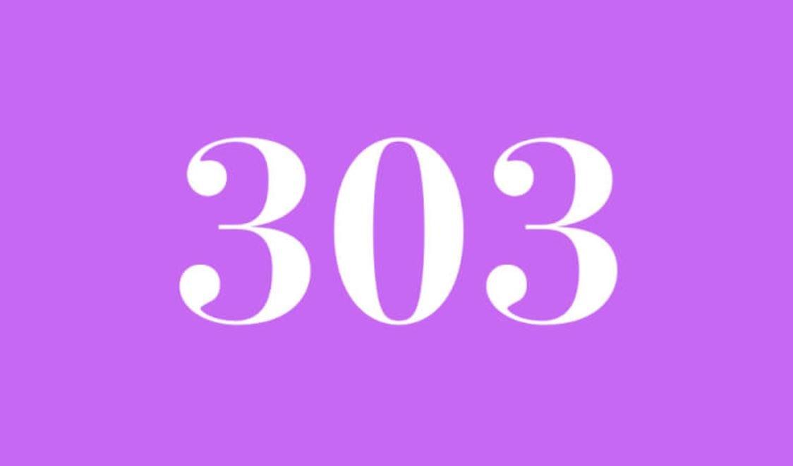 Significado do número 303