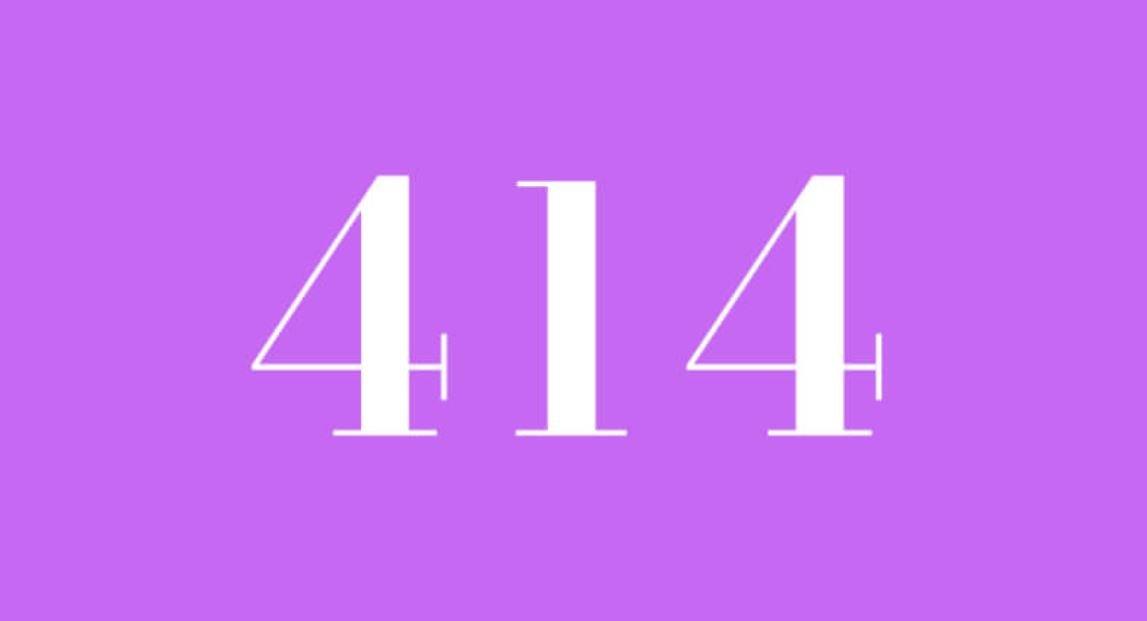Significado do número 414