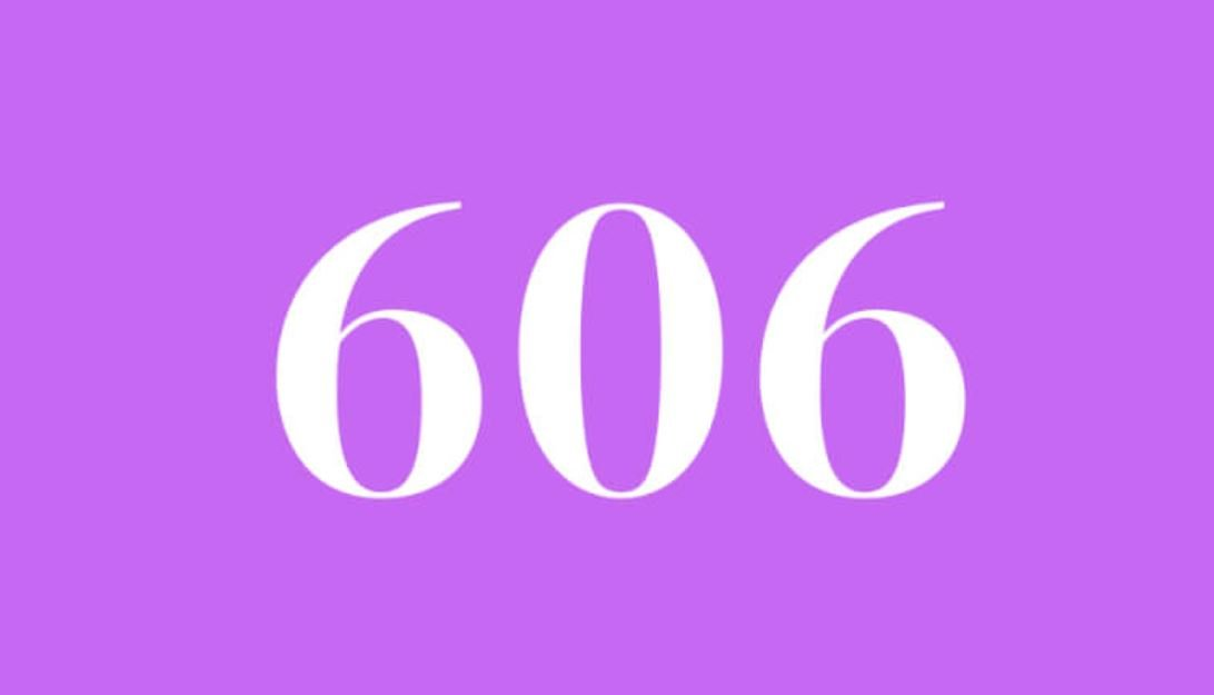 Significado do número 606