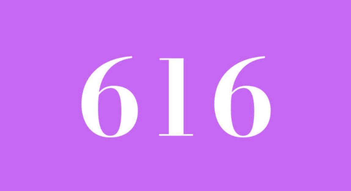 Significado do número 616