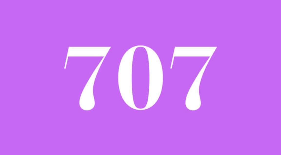 Significado do número 707