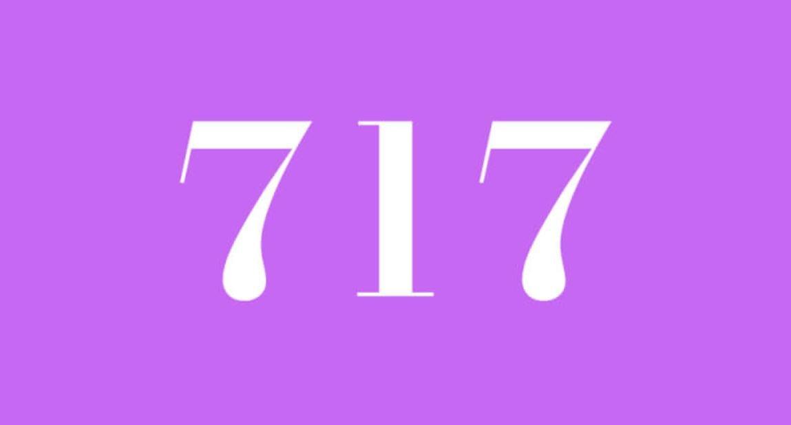 Significado do número 717