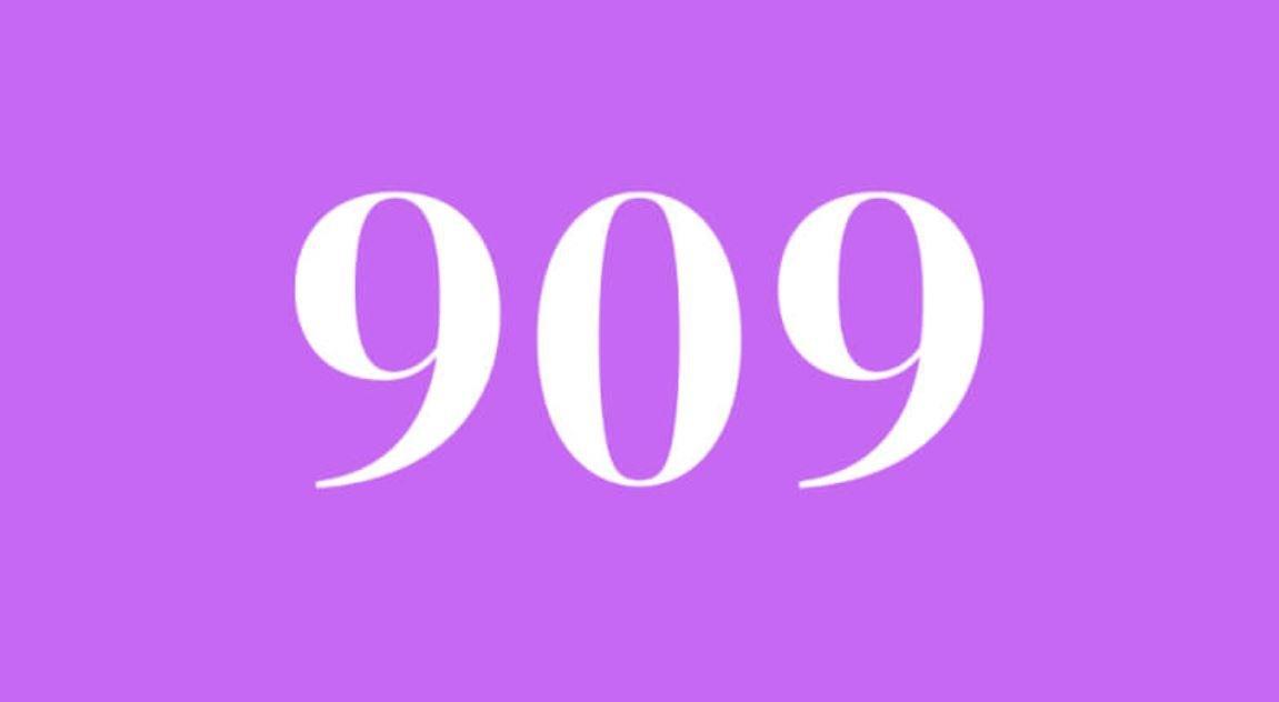 Significado do número 909