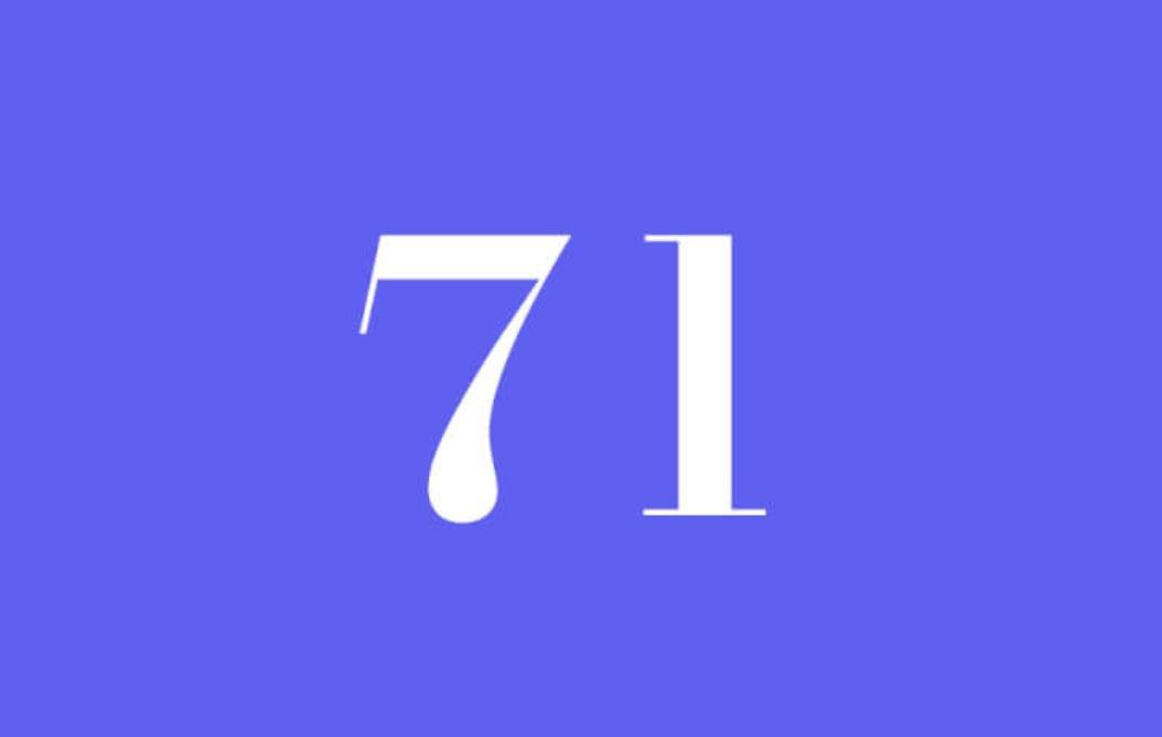 Anjo Número 71
