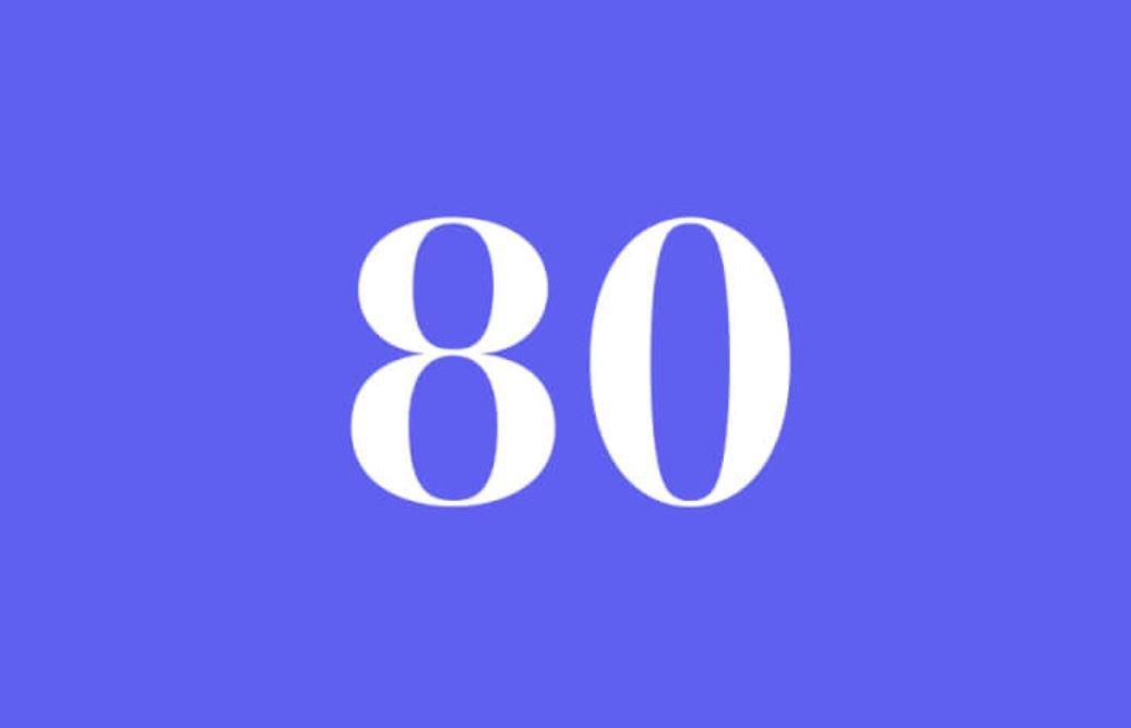 Anjo Número 80