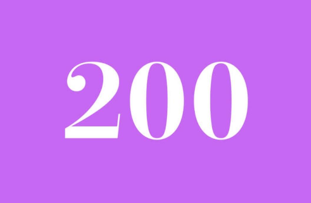 Anjo Número 200