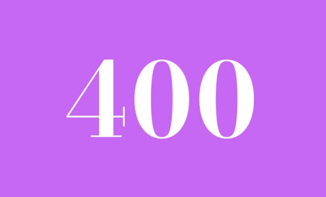 Anjo Número 400