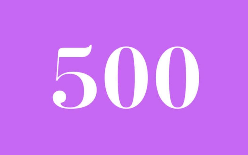 Anjo Número 500