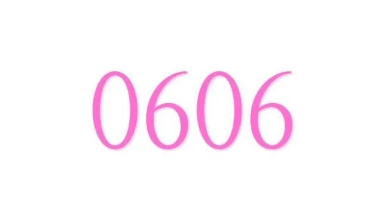 Significado do número 0606