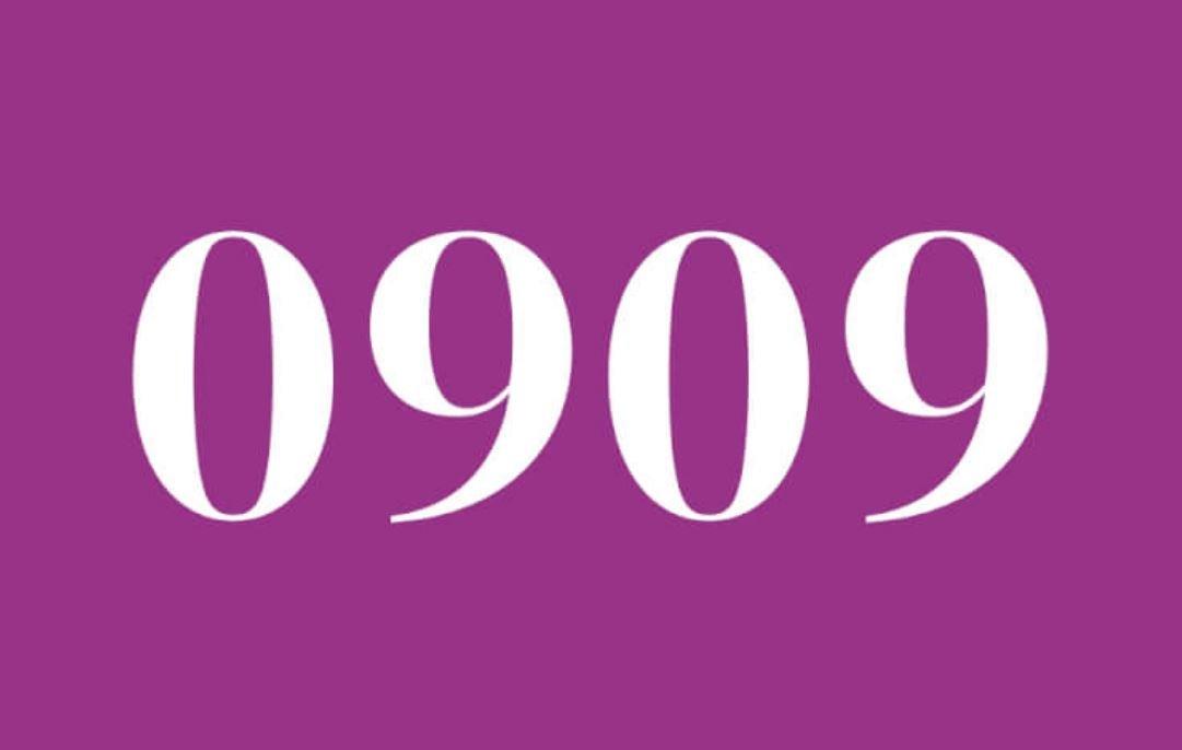 Significado do número 0909