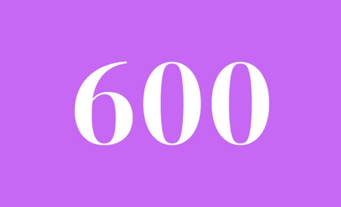 Anjo Número 600