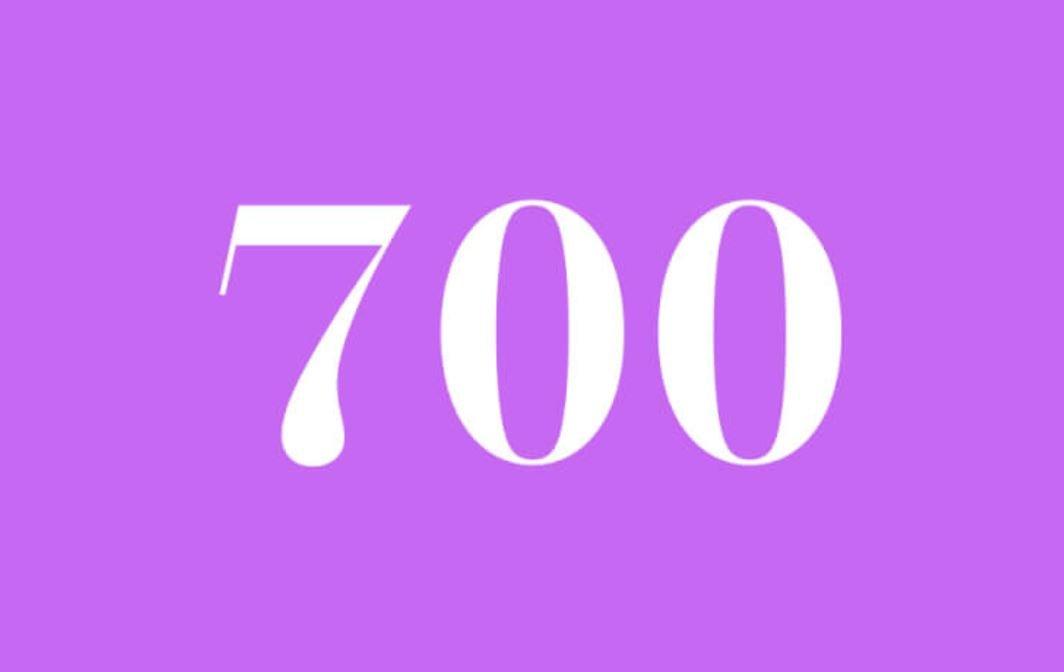 Anjo Número 700