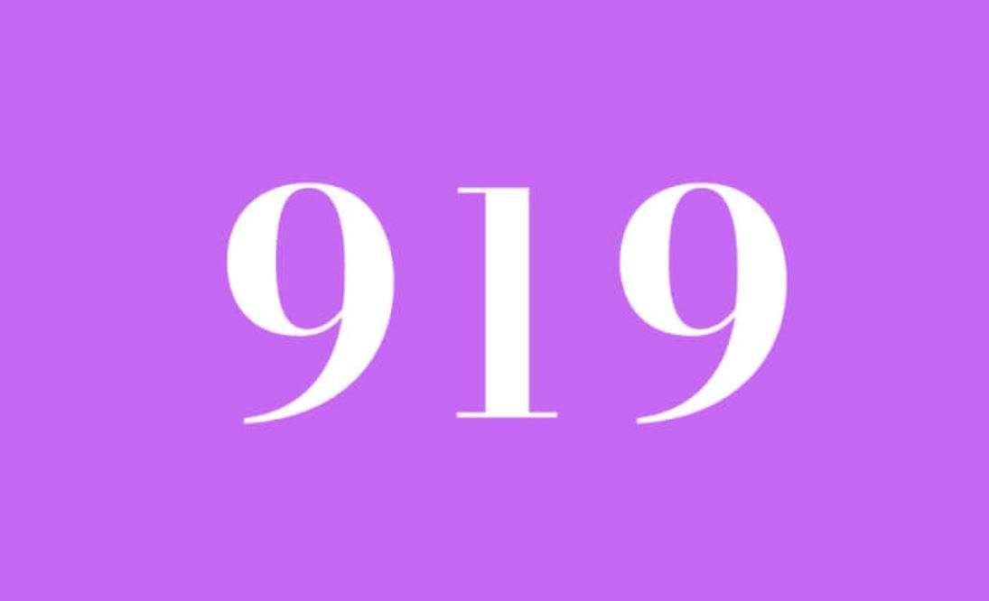 Anjo Número 919