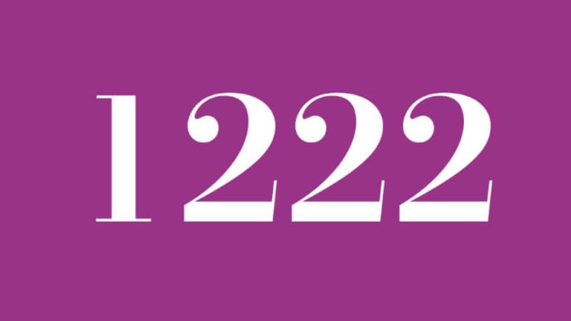 Significado do número 1222