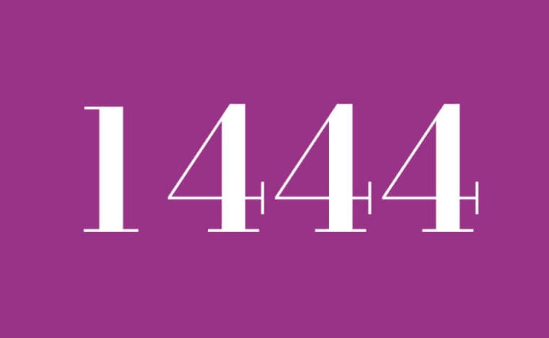 Significado do número 1444