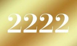 Anjo Número 2222: Mensagem dos Anjos