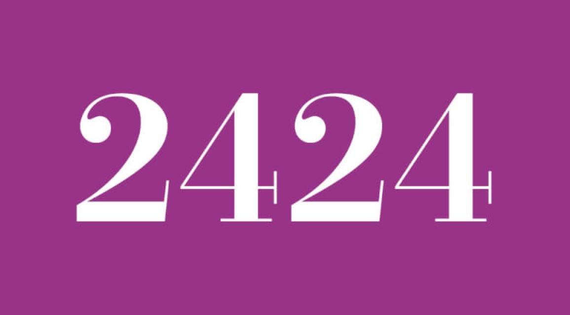 Anjo Número 2424