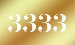 Anjo Número 3333: Mensagem dos Anjos