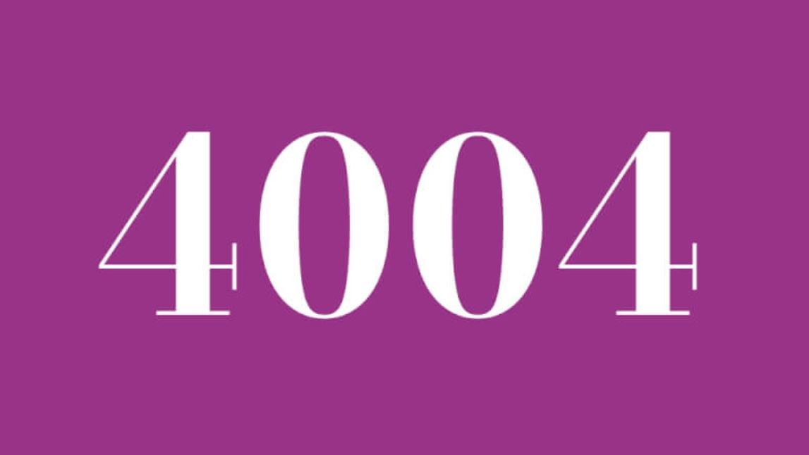 Anjo Número 4004