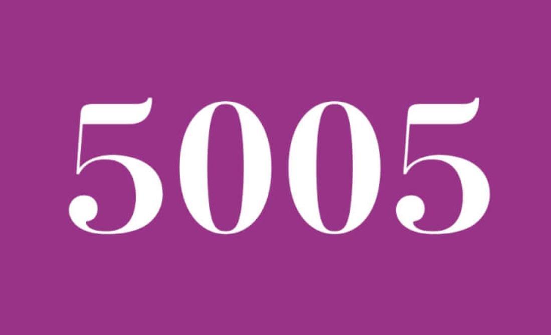 Anjo Número 5005