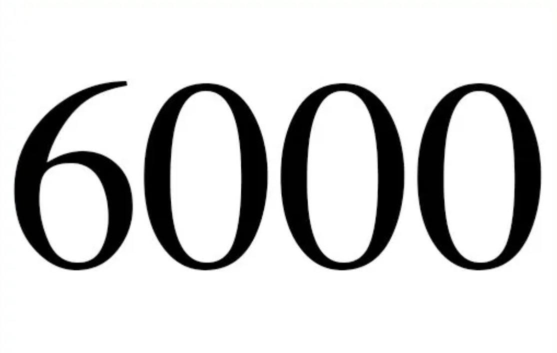 Anjo Número 6000