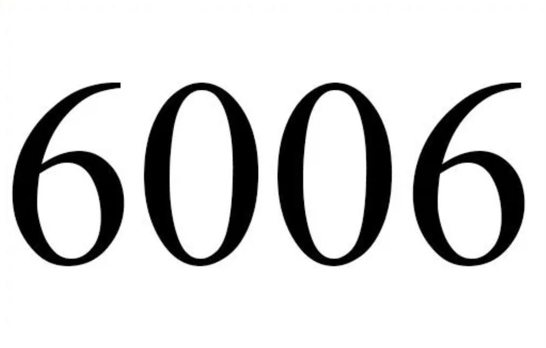 Anjo Número 6006