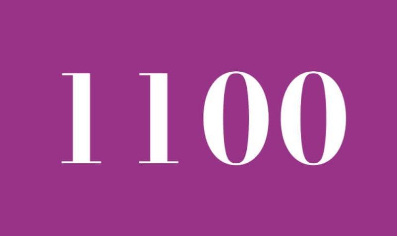Anjo Número 1100