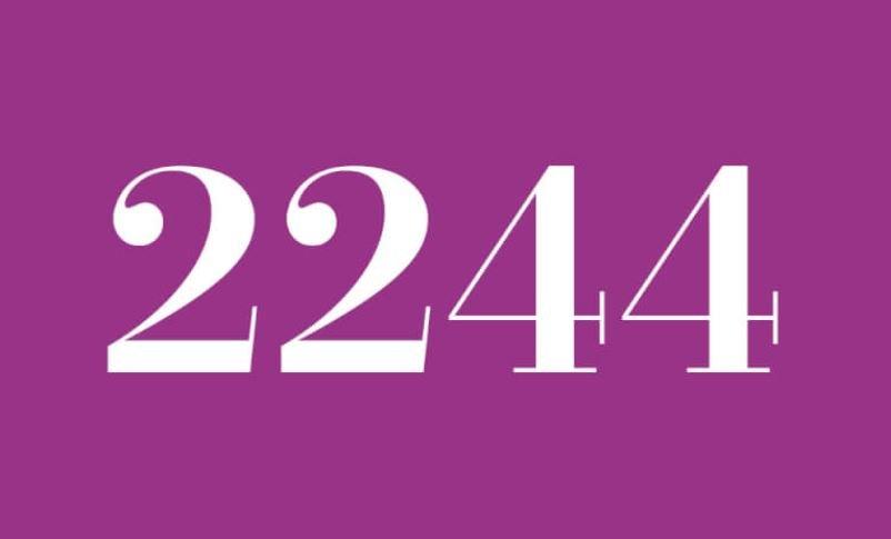 Anjo Número 2244