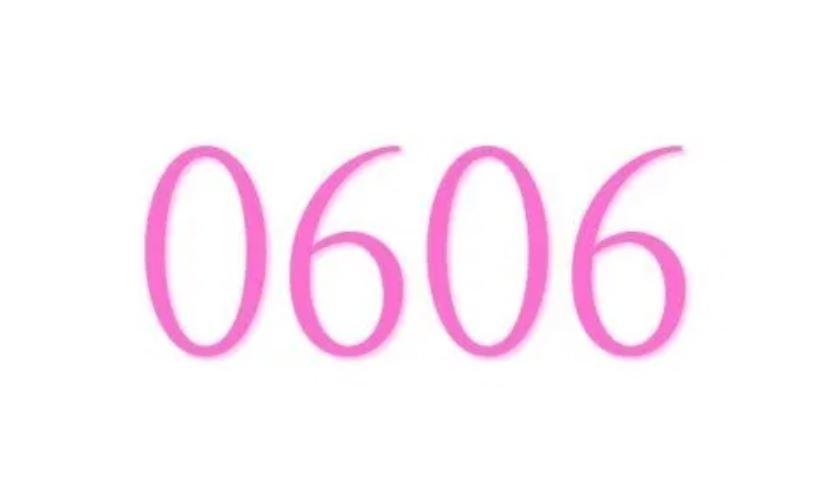 Anjo Número 0606