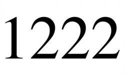 Anjo Número 1222: Mensagem dos Anjos