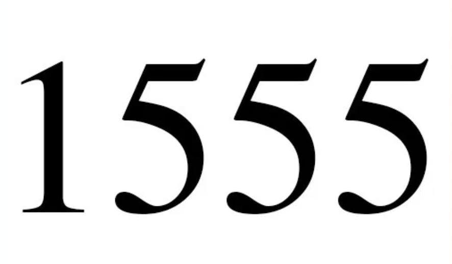 Anjo Número 1555