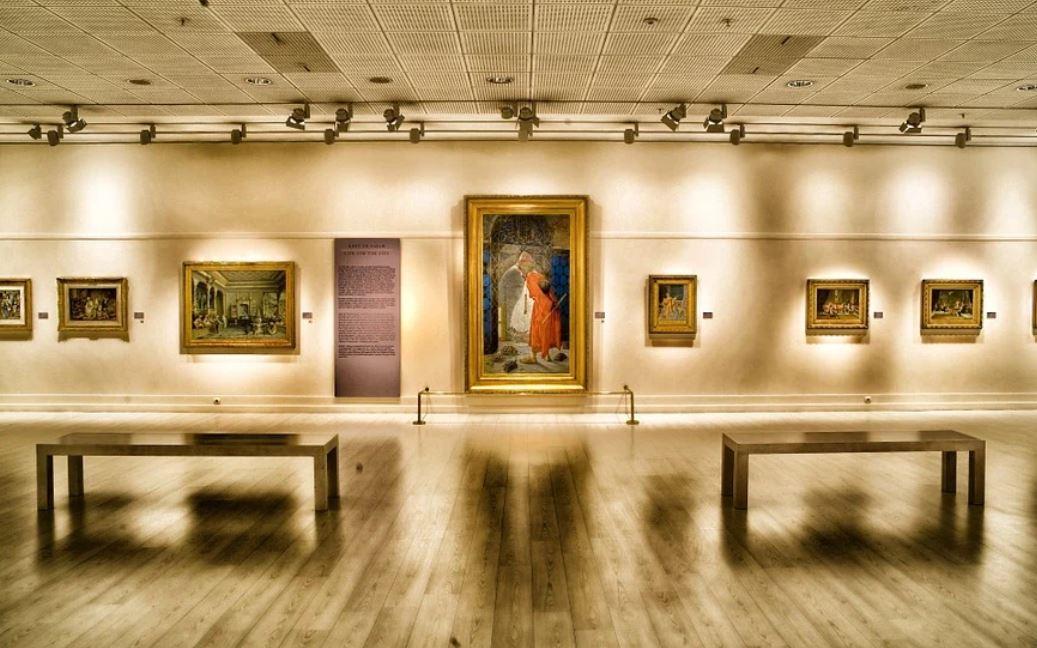 Sonhar com Galeria de Arte