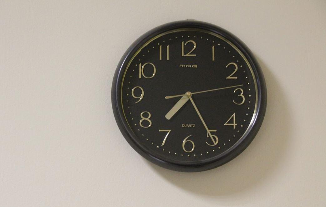 Horas iguais 10:10